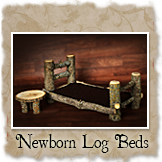Newborn Log Beds and Props