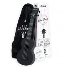 Official Kala Learn To Play Color Chord Ukulele Starter Kit for Beginners KALA-LTP-SCC