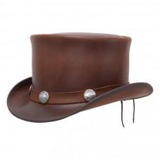EL DORADO TOP HAT, BUFFALO BAND Brown