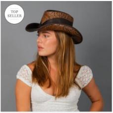 WOMEN'S FALCON COWBOY HAT Double G