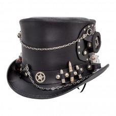 TIME PORT STEAMPUNK TOP HAT Steampunk Hatter