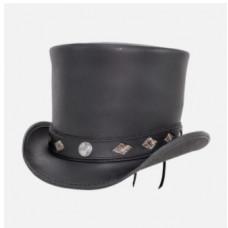 TOPPER TOP HAT, DIAMOND INLAY BAND Voodoo Hatter